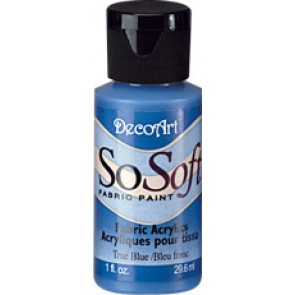 SoSoft Fabric Paint 30ml True Blue