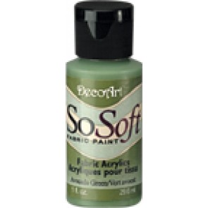 SoSoft Fabric Paint 30ml Avocado Green