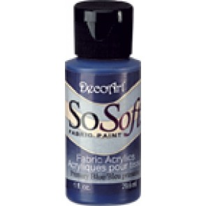 SoSoft Fabric Paint 30ml Primary Blue