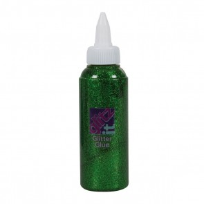 Glitter Glue (120ml) - Field Green