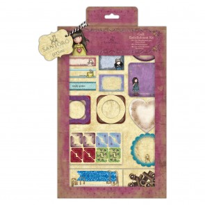 Craft Embellishment Kit  (81pcs) - Santoro