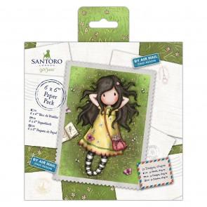 "6 x 6"" Paper Pack (32pk) - Santoro"