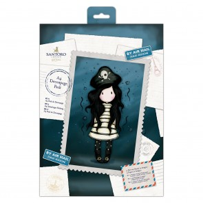 A4 Decoupage Pack - Santoro - Piracy