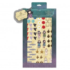 Charm Embellishment Kit (64pcs) - Santoro
