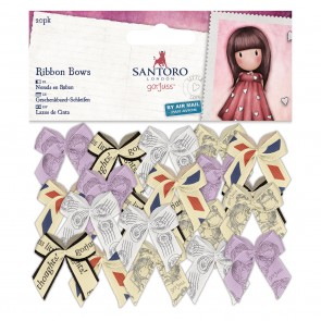 Small Ribbon Bows (20pk) - Santoro