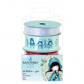 1M Ribbon (5pcs) - Santoro