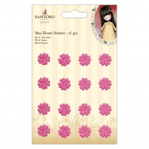 Mini Flower Stickers (16pcs) - Santoro