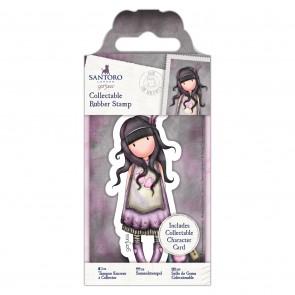 Collectable Rubber Stamp - Santoro - No. 50 Jar of Hearts
