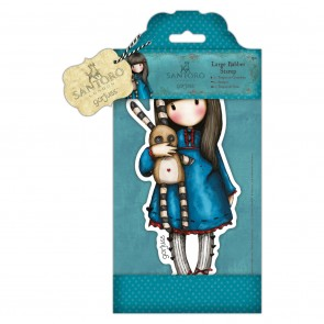 Large Rubber Stamp - Santoro - Hush Little Bunny