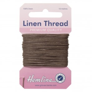 Linen Thread: 10m - Khaki