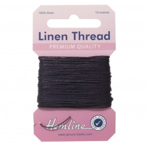 Linen Thread: 10m - Navy