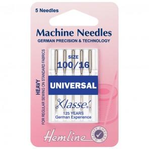 Universal Machine Needles: Heavy 100/16