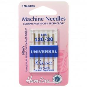 Universal Machine Needles: Heavy 120/20