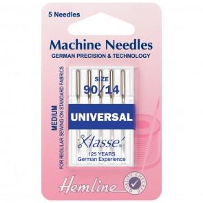 Universal Machine Needles: Medium/Heavy 90/14
