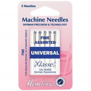 Universal Machine Needles: Mixed Fine