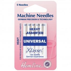 Universal Machine Needles: Mixed Heavy