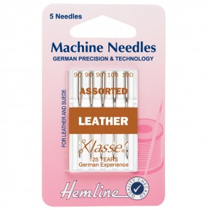 Leather Machine Needles: Mixed