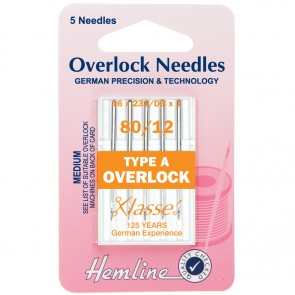Overlock/Serger Machine Needles: Type A