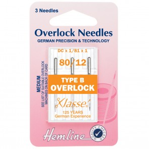 Overlock/Serger Machine Needles: Type B