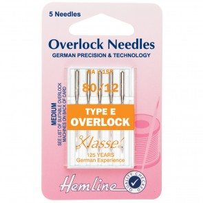 Overlock/Serger Machine Needles: Type E