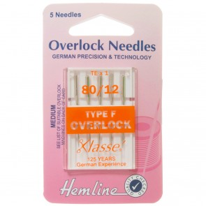 Overlocker/Serger Needles: Type F