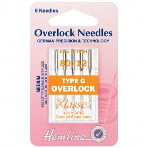 Overlock/Serger Machine Needles: Type G