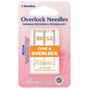 Overlock/Serger Machine Needles: Type K