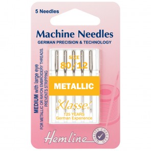 Metalfil Machine Needles: 80/12