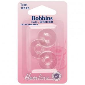 Plastic Bobbin: Brother