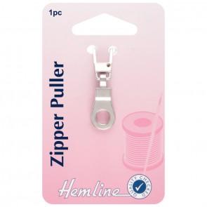 Zipper Puller: Ring - Silver
