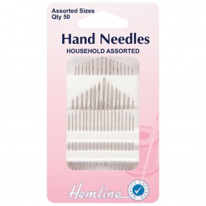 Household Assorted Needles - 50pcs