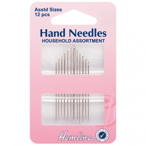 Household Assorted Needles - 12pcs