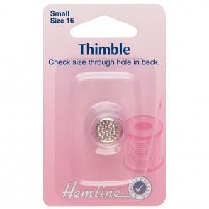 Thimble: Metal - Size 16, Small