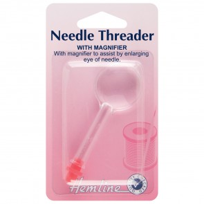 Needle Threader with Magnifier