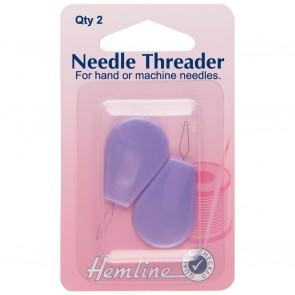 Needle Threader with Plastic Handle