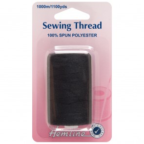 Sewing Thread 1000m: Black