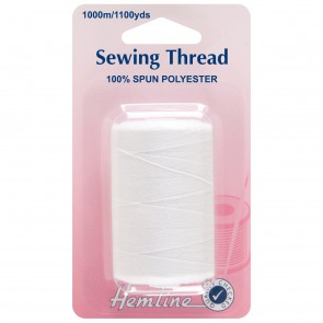 Sewing Thread 1000m: White