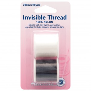 Invisible Thread: Clear/Smoke 2pk