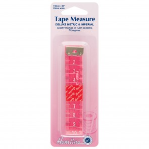 Tape Measure: Deluxe Metric/Imperial - 150cm