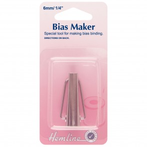 Bias Tape Maker: Small: 6mm