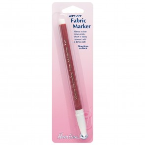Fabric Marker: Wipe-off - Brown