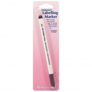 Permanent Labelling Pen: Felt Tip