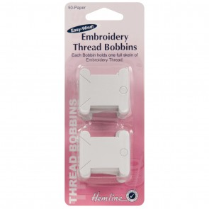 Embroidery Thread Bobbins: Paper