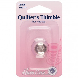 Quilters Thimble: Premium Quality: Large
