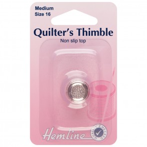 Quilters Thimble: Premium Quality: Medium