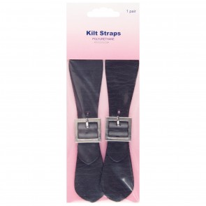 Kilt Straps: Brown