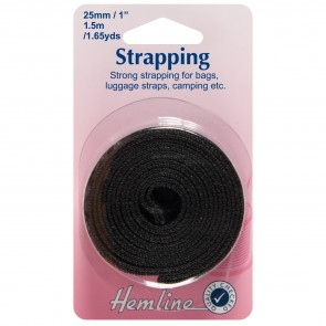 Strapping: Black: 25mm