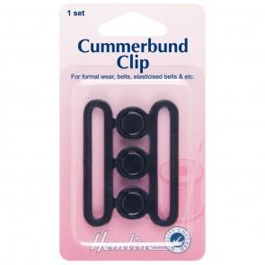 Cummerbund Clip: Black