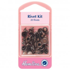 Rivet Kit: Bronze - 7mm