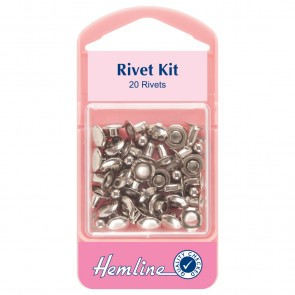 Rivet Kit: Nickel - 7mm